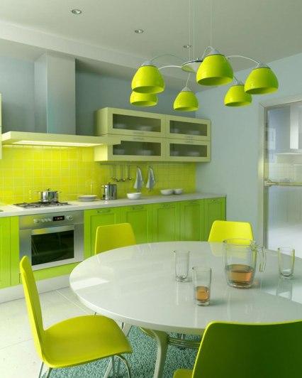 bright-lime-ktichen-ideas-design